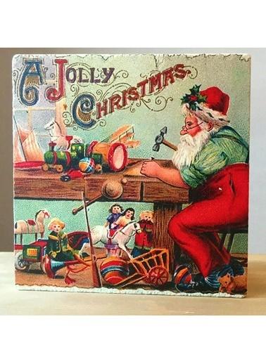 LWP Shop Oyuncakçı Noel Baba Traverten Nihale Renkli